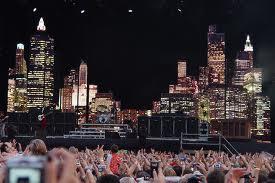 Festival de musique Lollapalooza de nuit
