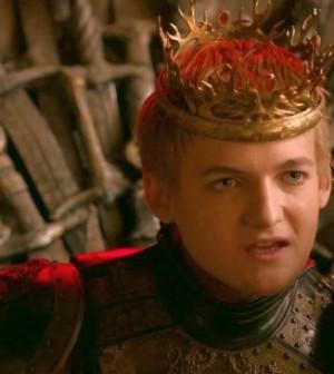 Geoffrey tête à claque dans game of thrones