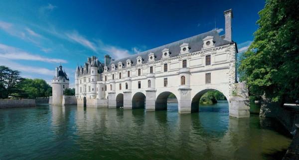 Meilleurs châteaux de la Loire : château de Chenonceau