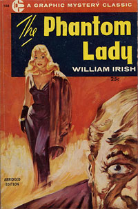 Lady Fantome de William Irish : roman policier