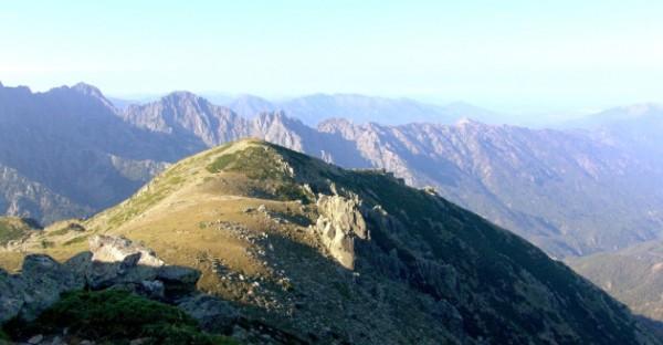 Le GR 20 en Corse