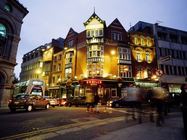 Pub à Dublin