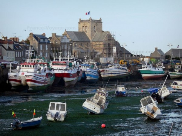 Barfleur : un village en bord de mer