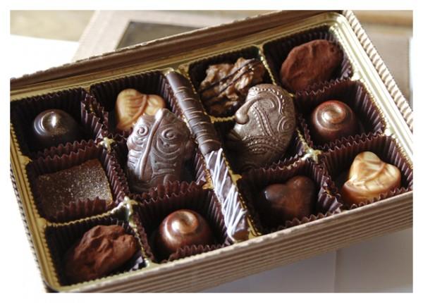 Boites de chocolats