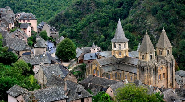 Conques : village médiéval par excellence