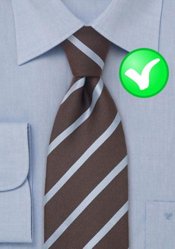 Cravate code couleur