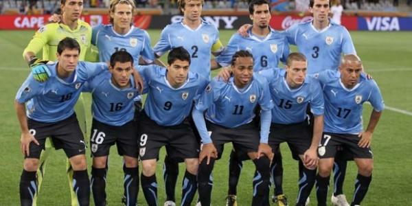 Football Equipe Uruguay