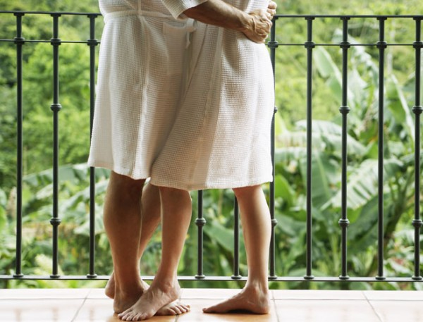 Week-end en amoureux pour les beaux-parents