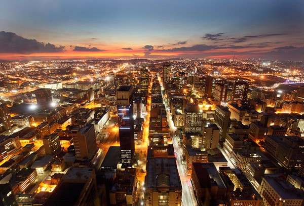 Johannesburg, une des plus belles villes d'Afrique