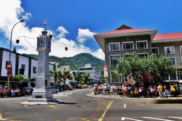 Victoria aux Seychelles